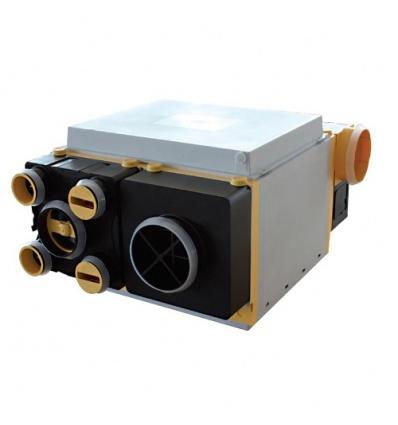 Caisson VMC Unelvent - AKOR BP HR - Double Flux - 4 piquages
