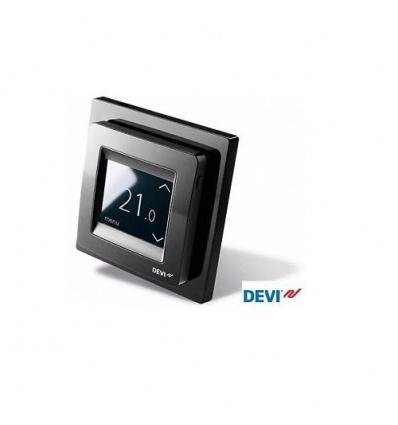 Thermostat Devireg Touch Deleage Noir pour plancher chauffant 140F1069