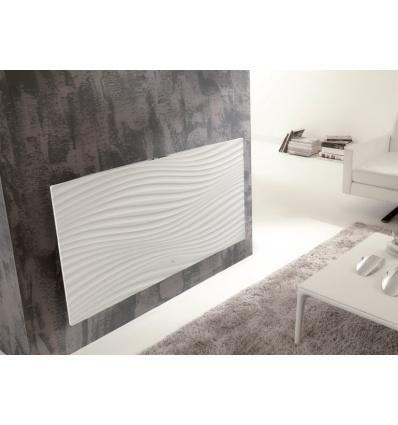 Radiateur Irisium d'Atlantic design et connecté 1500W blanc