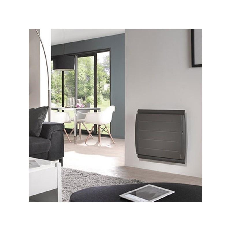 radiateur atlantic maradja 2000w gris avec pilotage distance 507544. Black Bedroom Furniture Sets. Home Design Ideas