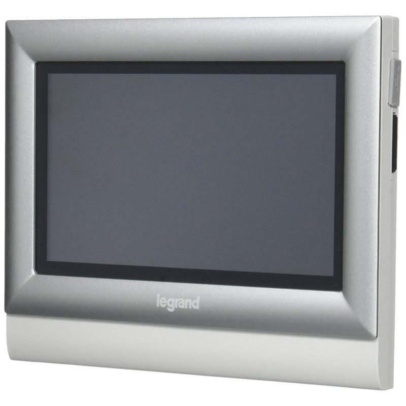 kit portier visiophone legrand avec cran tactile 10 ref 369330. Black Bedroom Furniture Sets. Home Design Ideas