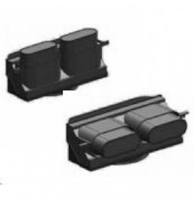 Adaptateur pour bouche 80, 100 et 125mm PLUGGIT Unelvent 810511