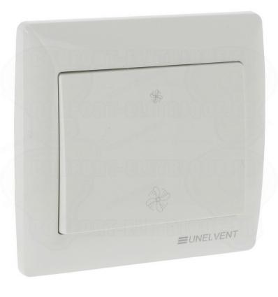 Interrupteur 2 positions pour caisson VMC autoréglable Unelvent 700351