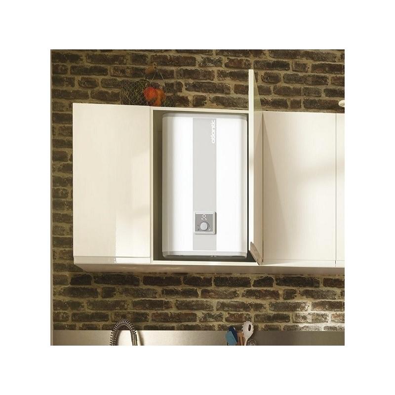 chauffe eau lectrique lin o 80l 2250 w atlantic 157108. Black Bedroom Furniture Sets. Home Design Ideas