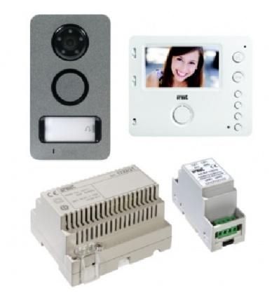 Kit vidéo portier visiophone - vidéophone mini note 2 URMET vidéosureveillance des accès depuis votre smartphone !