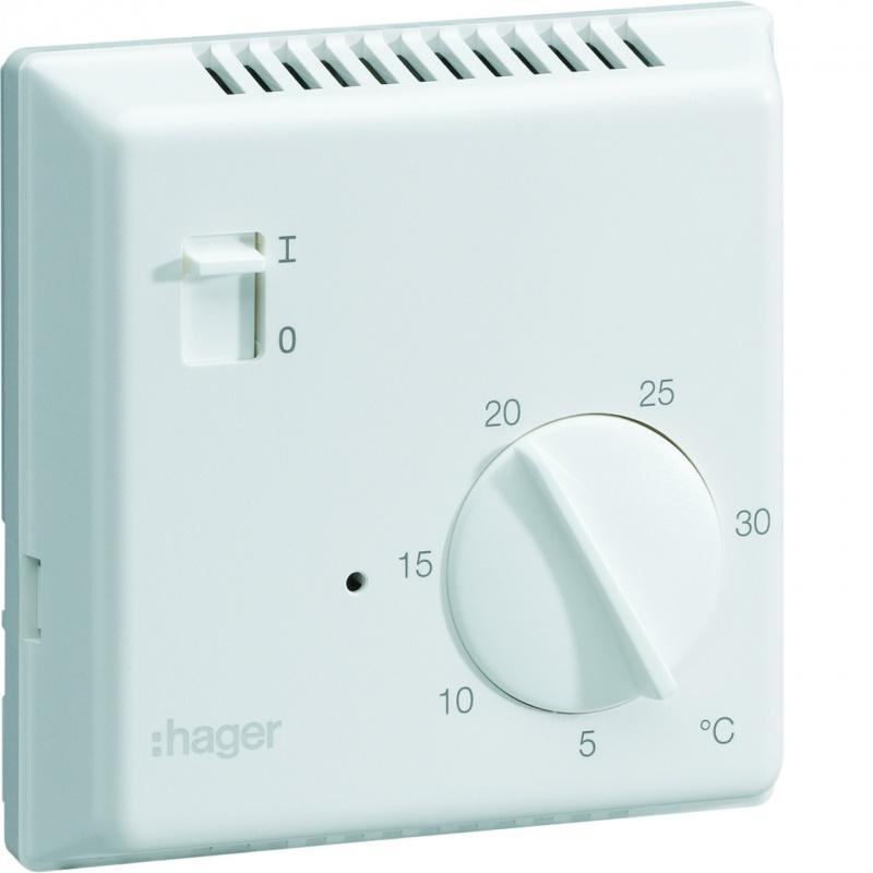 thermostat ambiance lectronique en saillie pour chauffage. Black Bedroom Furniture Sets. Home Design Ideas