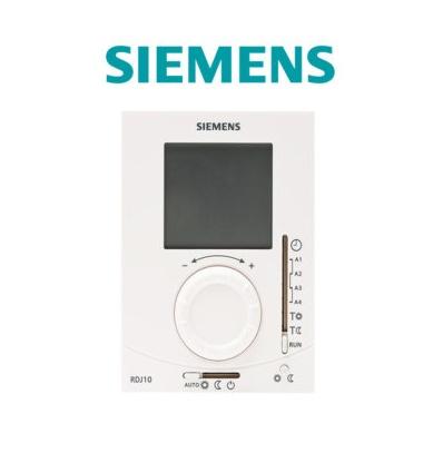 THERMOSTAT AMBIANCE GRAND ECRAN LCD PILES JOURNALIER SIEMENS RDJ100
