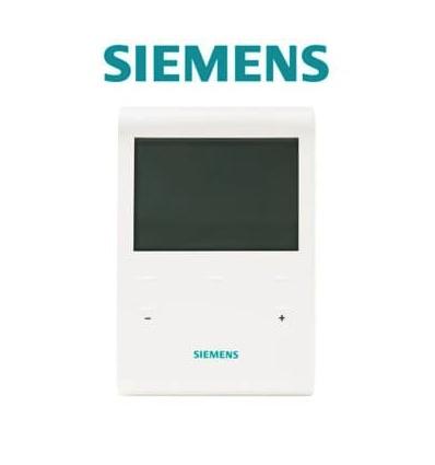 Programmateur filaire fil pilote 4 ordres Siemens RDE100DP