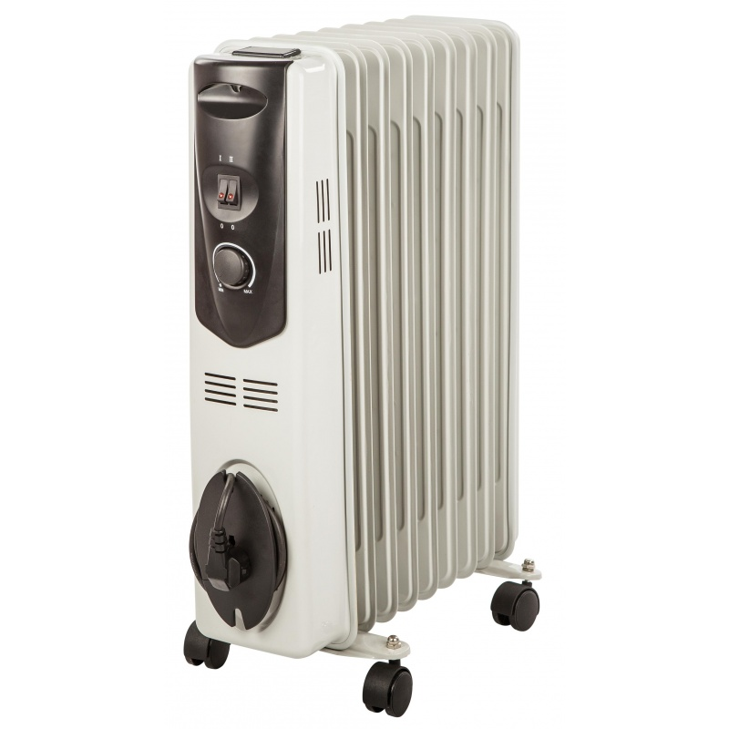 radiateur bain huile 3 vitesses 2000w chauffage d 39 appoint. Black Bedroom Furniture Sets. Home Design Ideas