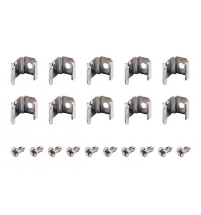 Clips de montage pour DELF D, 45°, 10 pièces