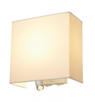 ACCANTO SPOT SQUARE LED, applique, blanche, E27, LED 3000K, max. 24W