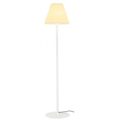 ADEGAN lampadaire, blanc, E27 éco. énergie max. 24W, IP54