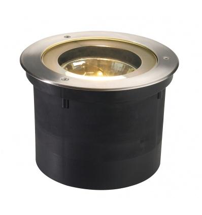 ADJUST 190 QRB111 encastré de sol, rond, inox 304, max. 50W, IP67