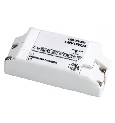 ALIMENTATION LED 12W, 24V
