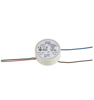 ALIMENTATION LED pour boîte d´installation, 12W, 24V