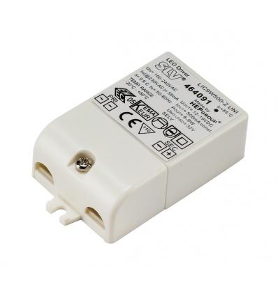 ALIMENTATION LED, 9VA, 500mA, serre-câble inclus