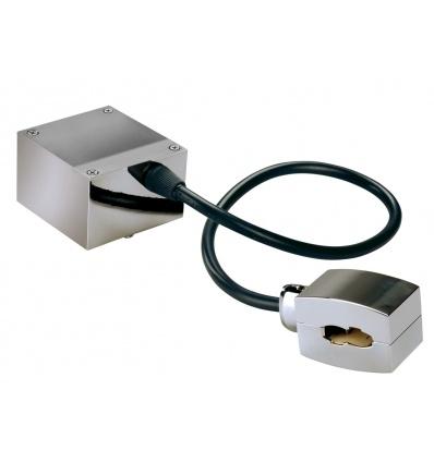 Alimentation pour EASYTEC 2, chrome, câble L 40 cm