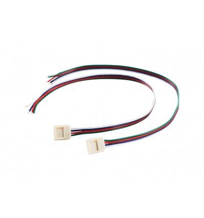 Alimentation pour FLEXSTRIP LED RGB largeur 15mm, 30cm