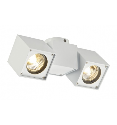 ALTRA DICE spot 2, plafonnier, blanc, 2x GU10, max. 2x 50W