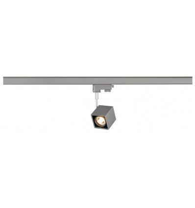 ALTRA DICE spot, carré, gris argent noir, GU10, max. 50W, adapt. 3 all