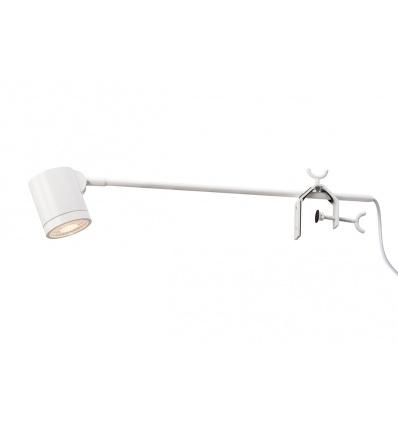 ANELA LED, spot sur tige, blanc, LED 10W 3000K, 50°