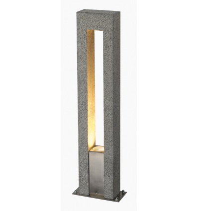 ARROCK ARC GU10, borne, granit, poivre & sel GU10, max. 35W