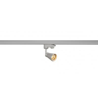 AVO, adapt. 3 allumages inclus, gris argent, 1x GU10, max. 50W
