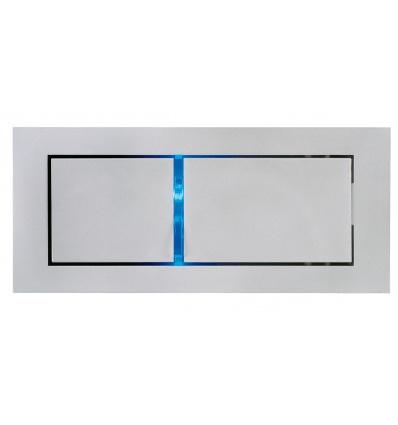 BEDSIDE-gauche-applique-gris-argent-3W-LED-3000K