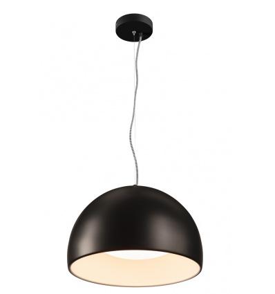 BELA 40 LED suspension, noir blanc, LED 24W, 3000K, 1350lm