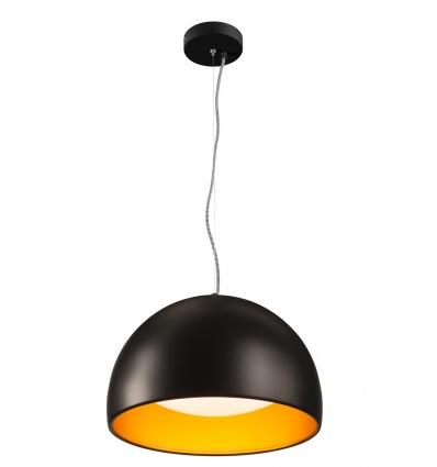 BELA 40 LED suspension, noir or, LED 24W, 3000K, 1350lm