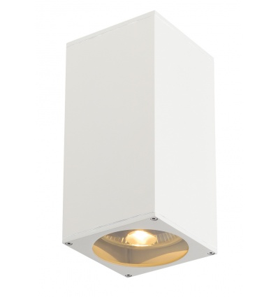 BIG THEO UP DOWN OUT applique, carrée, blanc, ES111, max. 2x75W