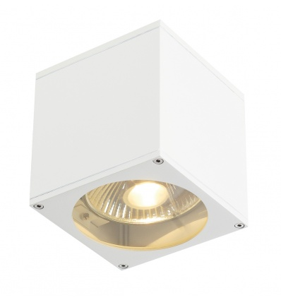 BIG THEO WALL OUT applique, carré, blanc, ES111, max. 75W