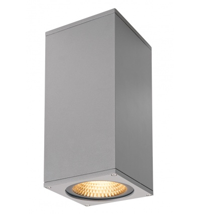 BIG THEO WALL, applique, up down, gris argent, 42W, LED 3000K, 2000lm