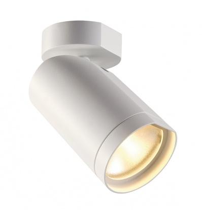 BILAS 1, LED, 25°, rond, blanc, 15W, 2700K, avec patère