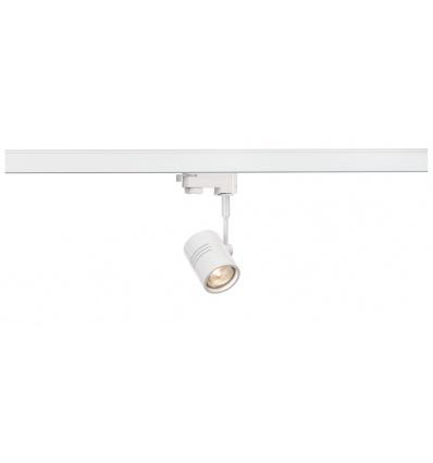 BIMA 1, spot, blanc mat, GU10, max. 50W, adaptateur 3 allumages inclus
