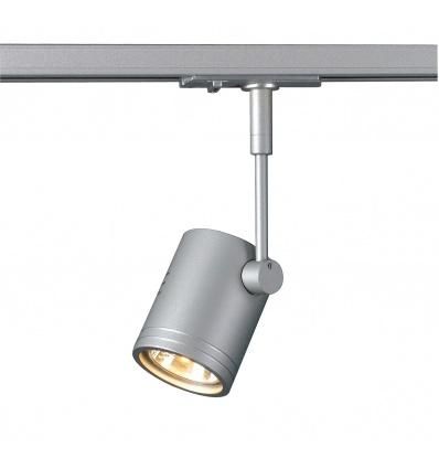 BIMA 1, spot, gris argent, GU10, max. 50W, adaptateur 1 allumage inclu