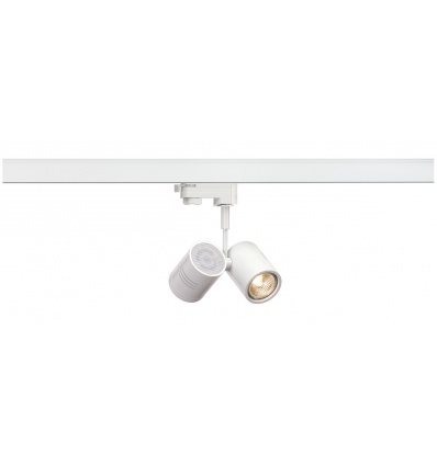 BIMA 2, spot, blanc mat, 2x GU10, max. 50W, adaptateur 3 allumages inc