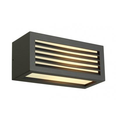 BOX-L E27 applique, carrée, anthracite, E27, max. 18W