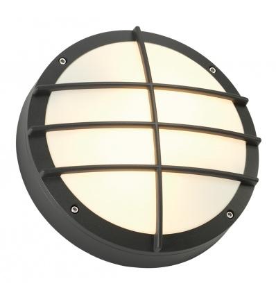 BULAN GRID applique, ronde, anthracite, E27, max. 2x 25W, diffuseur PV