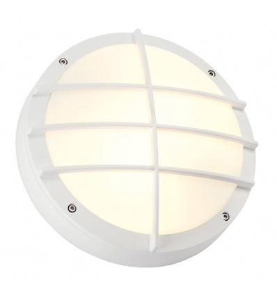 BULAN GRID applique, ronde, blanche, E27, max. 2x 25W, diffuseur PVC