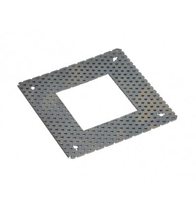 Cadre de fixation pour DOWNUNDER PUR carré, 80x80mm