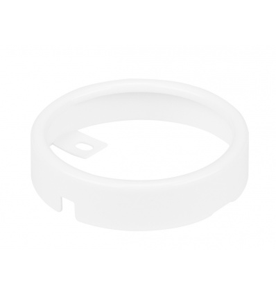 Cadre de montage pour DL 126, rond, blanc