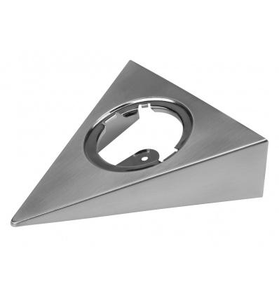 Cadre de montage pour DL 126, triangulaire, métal brossé