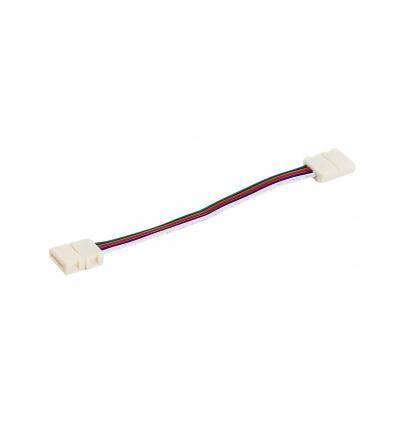 Connecteur flex pour FLEXSTRIP LED RGB, largeur 15mm, 13cm