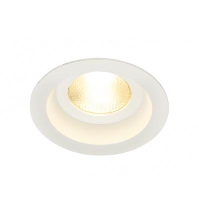 CONTONE IP44 encastré rond, blanc, LED 13W variable 2000-3000K