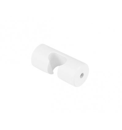 Crochet de câble pour suspension, blanc