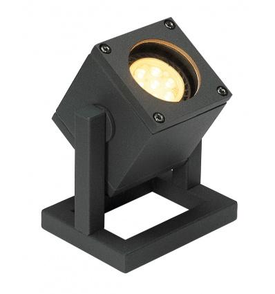 CUBIX 1, projecteur, anthracite, GU10 max. 25W