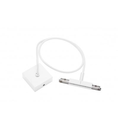 D-TRACK, alimentation centrale avec câble 1m, blanc