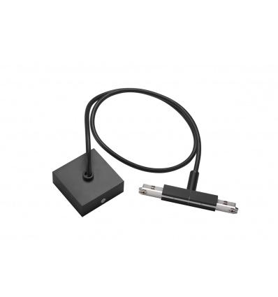 D-TRACK, alimentation centrale avec câble 1m, noir
