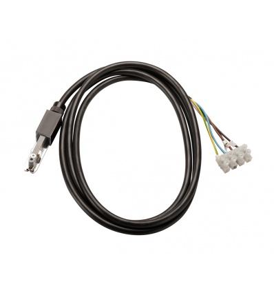 D-TRACK, alimentation, avec boîte de connexion et serre-câble, noir